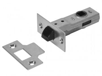 J2600 3.0 Tubular Latch Essentials Zinc Plated 79mm 3in Boxed
